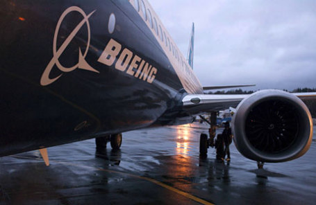 Самолет Боинг 737.