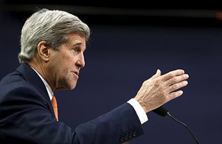 Госсекретарь США Джон Керри.
