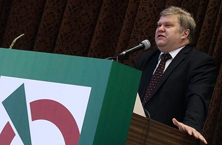 Глава московского отделения партии «Яблоко» Сергей Митрохин.