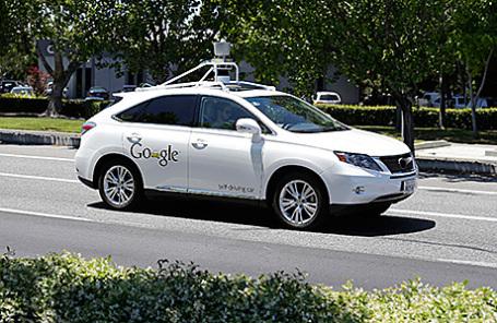 Беспилотный автомобиль компании Google.