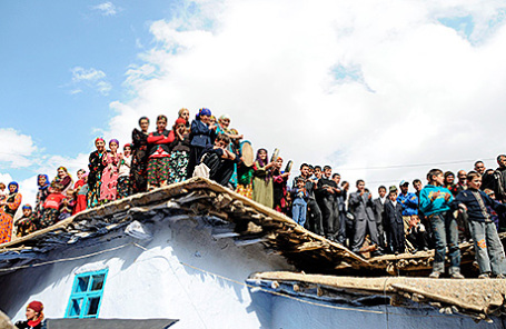 Жители Таджикистана.