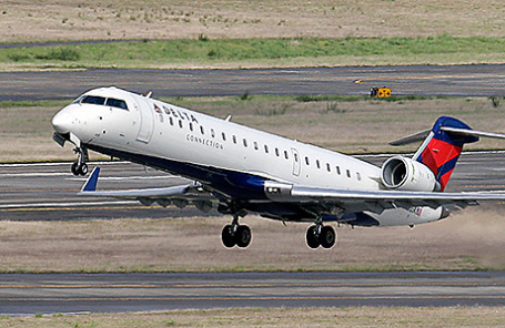 Самолет компании Delta Airlines.