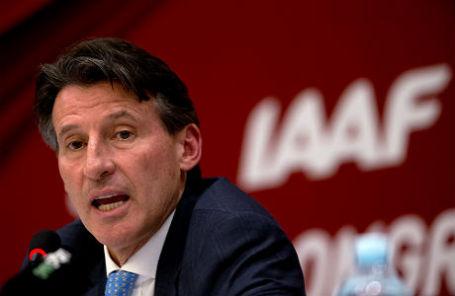 Президент Международной ассоциации легкоатлетических федераций Себастьян Коэ.