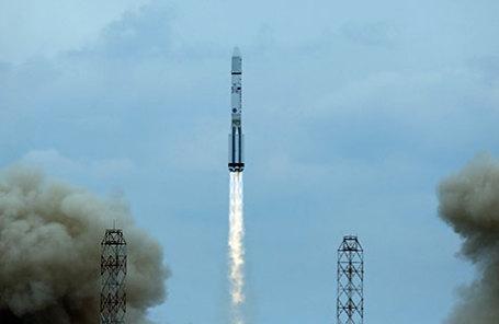 Пуск ракеты-носителя «Протон-М» с научной межпланетной станцией «Экзомарс-2016» на космодроме Байконур.
