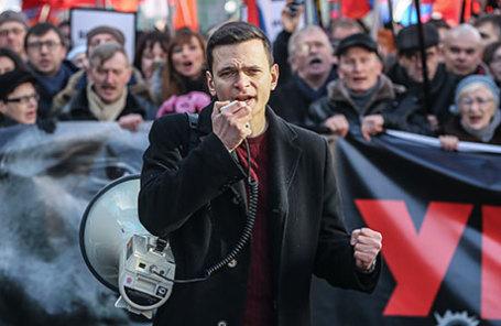 Заместитель председателя партии «Парнас» Илья Яшин.