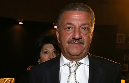 Бывший владелец Черкизовского рынка Тельман Исмаилов с супругой Аразой.