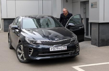 Владимир Апатенко и Kia Optima GT