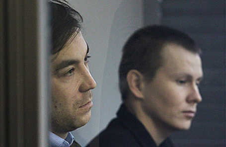 Евгений Ерофеев и Александр Александров (слева направо).