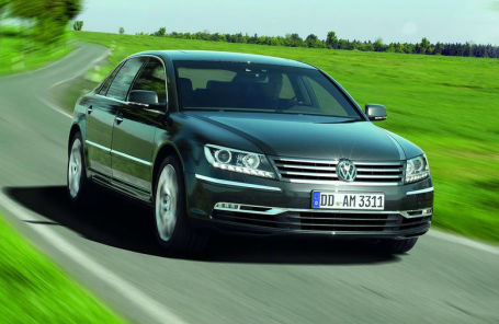 Volkswagen Phaeton 2011 года.