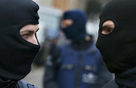 Полиция Бельгии.