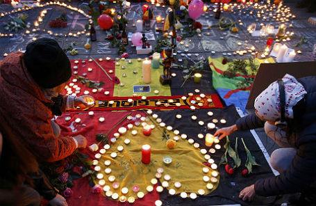После терактов в Брюсселе.