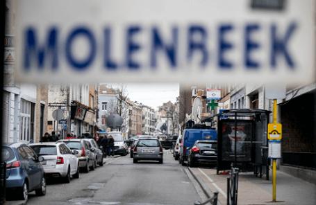 Брюссельская коммуна Моленбек, в которой скрывался подозреваемый в организации парижских терактов Салах Абдеслам
