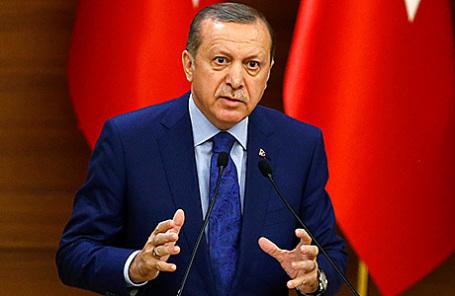 Президент Турции Реджеп Тайип Эрдоган.