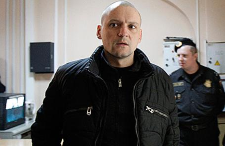 Оппозиционер Сергей Удальцов.