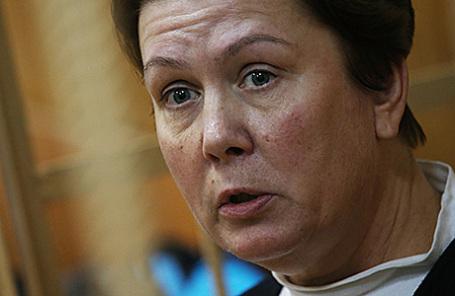 Директор Библиотеки украинской литературы Наталья Шарина.