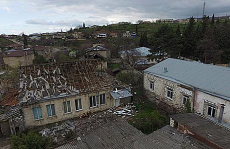 Поселение в Нагорном Карабахе.