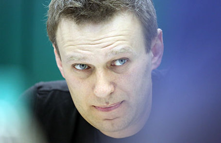 Оппозиционер Алексей Навальный.