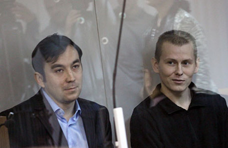 Граждане России Евгений Ерофеев и Александр Александров (слева направо).