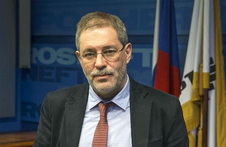 Пресс-секретарь и вице-президент «Роснефти» Михаил Леонтьев.