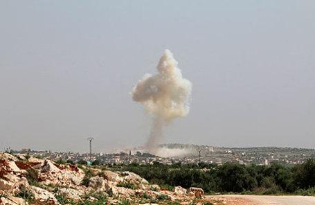 Русские ВКС бомбили район Алеппо потребованию Ирана
