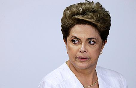 Президент Бразилии Дилма Руссефф.