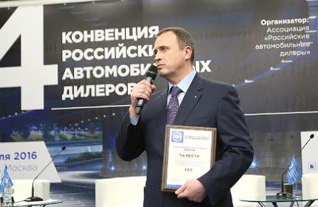 Директор по реализации и маркетингу дивизиона «Легкие коммерческие и легковые автомобили» «Группы ГАЗ» Олег Марков.