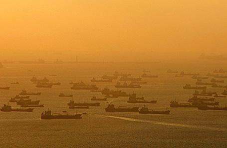 Нефтяные танкеры.