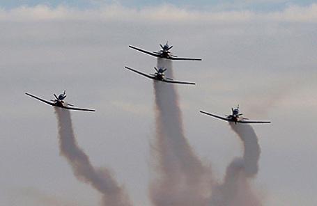 Израильские военные самолеты.