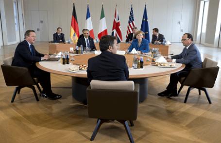 Встреча глав государств G5 в Ганновере