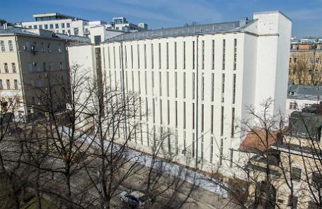 Конструктивистское здание Таганской АТС.