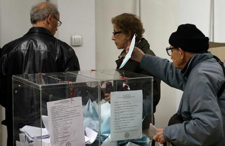 Досрочные парламентские выборы в Сербии.