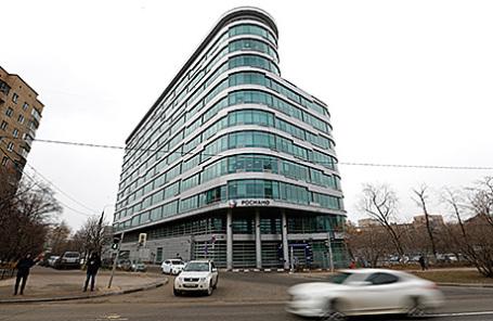 Здание «Роснано» в Москве.