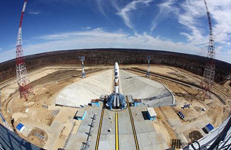 Стартовый комплекс космодрома Восточный.