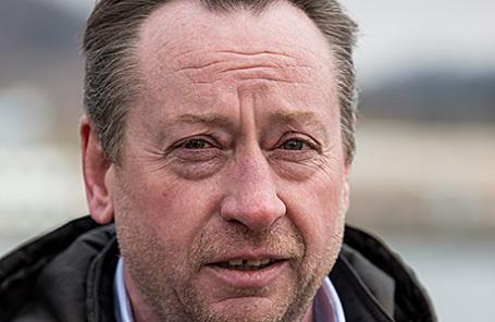 Генеральный директор рыбокомбината «Островной» Алексей Попов.
