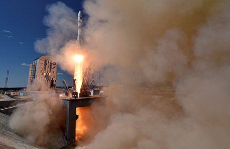 Запуск ракеты «Союз-2.1а» с космодрома Восточный.