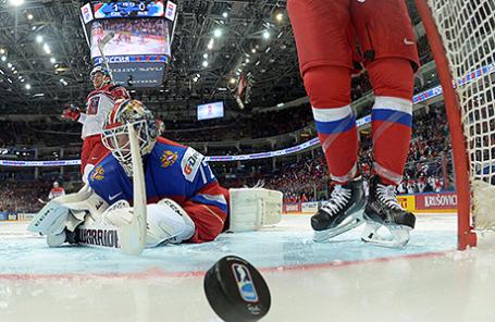 Чемпионат мира по хоккею - 2016: Чехия - Россия - 3:0.