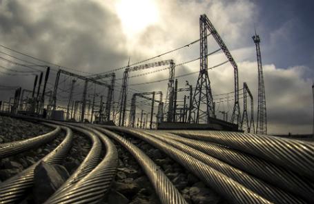 Электроподстанция «Кафа» под Феодосией.