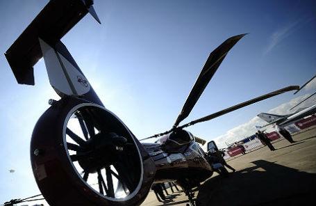 Вертолет Ка-62 на международном авиасалоне МАКС в Жуковском.