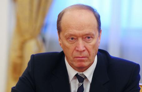 Посол РФ в Латвии Александр Вешняков.