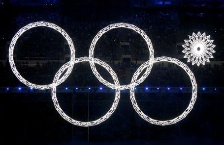 Открытие Олимпиады в Сочи.