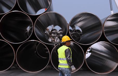 Трубы для строительства участка Трансадриатического трубопровода