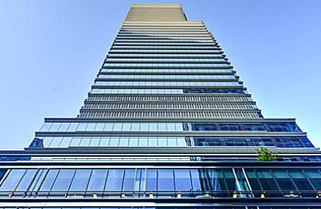 Блумберг-Тауэр в Нью-Йорке, где располагается штаб-квартира агентства Bloomberg.