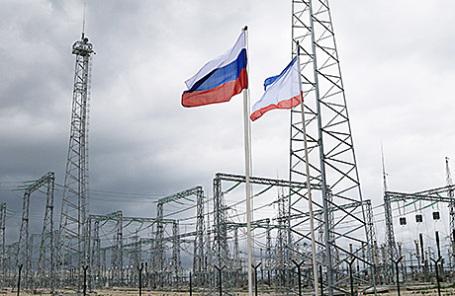 Запуск четвертой нитки энергомоста в Крым.