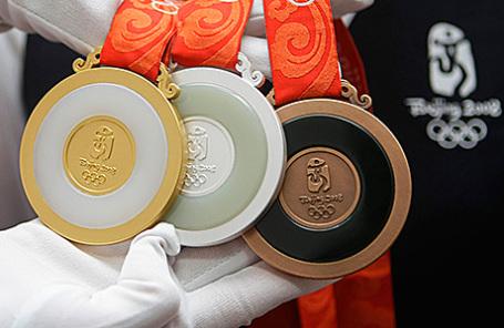 Медали на летних Олимпийских играх в Пекине, 2008 год.