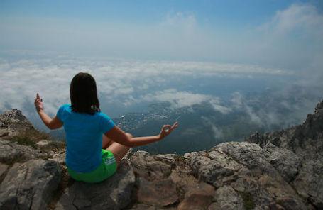 На горе Ай-Петри, Крым.