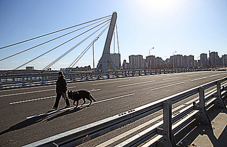 Мост через Дудергофский канал в Санкт-Петербурге, который может быть назван в честь Ахмата Кадырова.