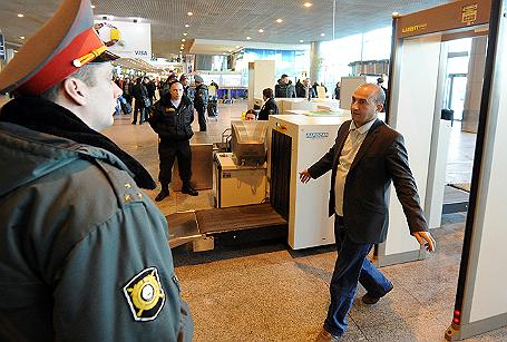 Усиление мер безопасности в аэропорту «Домодедово».