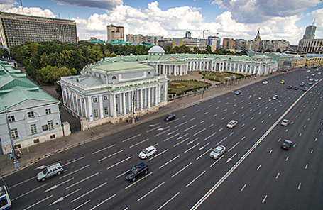 Участок Садового кольца.