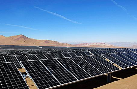 Солнечная электростанция.