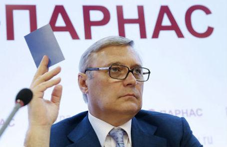 Председатель партии ПАРНАС Михаил Касьянов.